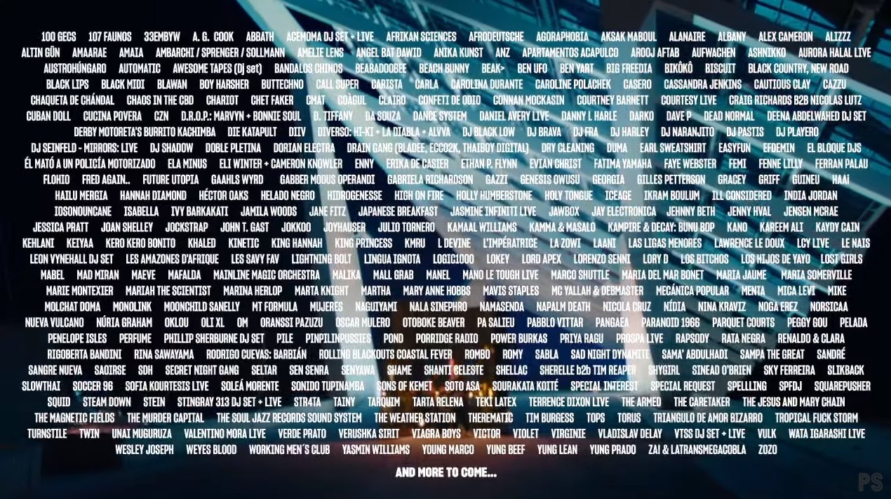 PRIMAVERA SOUND 2022! (A priori) SOLD OUT COMPLETO E2OObJgWUAUh2Cp?format=jpg&name=large
