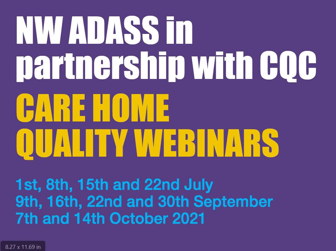 test Twitter Media - Coming soon! Short, Practical, Provider led webinars for residential and nursing care home managers and staff.  Follow the link for more information and free registration https://t.co/BDschGncYG https://t.co/zyCaUQaCrL