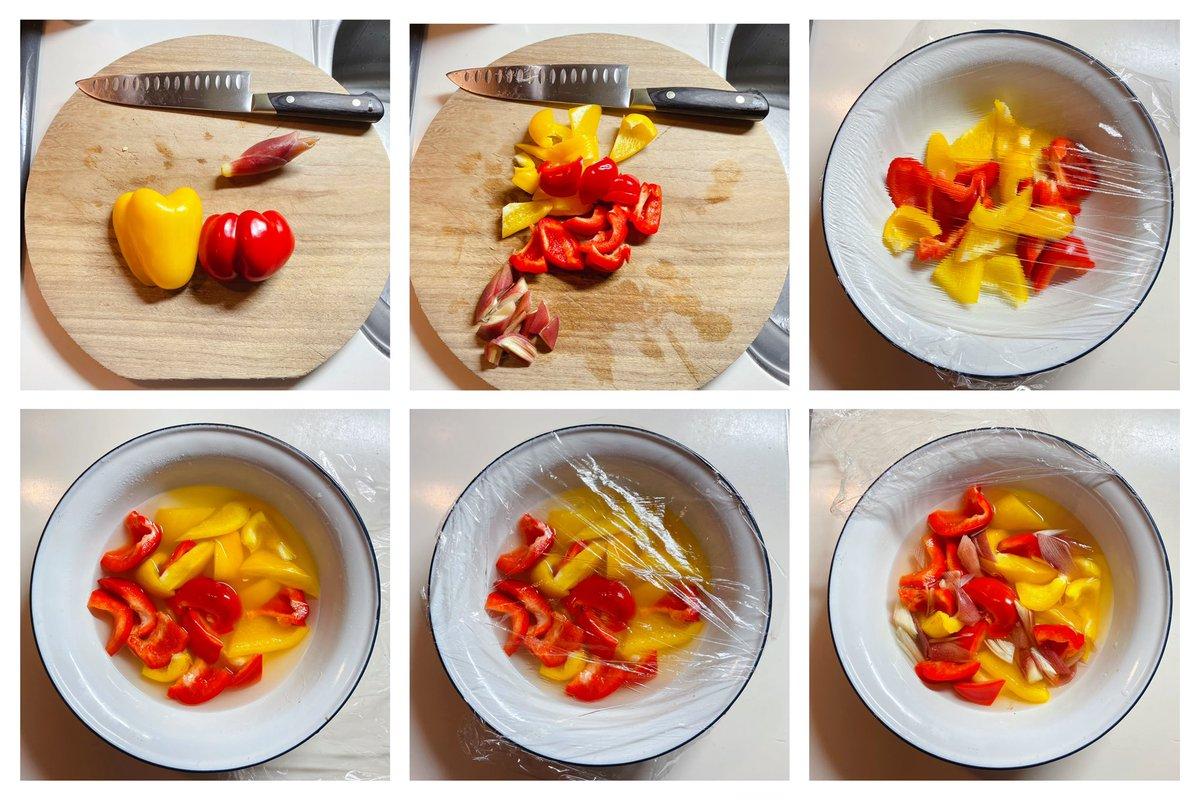 とっても作りやすそう!パプリカを使ったピクルスのレシピ!