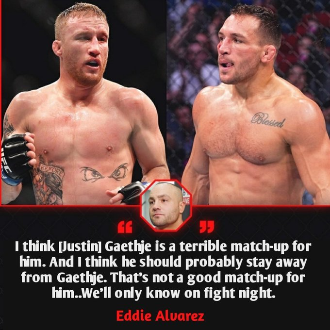Eddie Alvarez Doesn T Like Michael Chandler S Chances Against Gaethje Terrible Matchup Sherdog Forums Ufc Mma Boxing Discussion