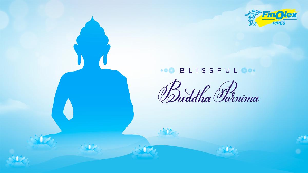 Happy Buddha Purnima  #BuddhaPurnima #FestivalOfIndia #Festivals #SeasonsGreetings #FinolexPipes https://t.co/OFPTYf1XYy