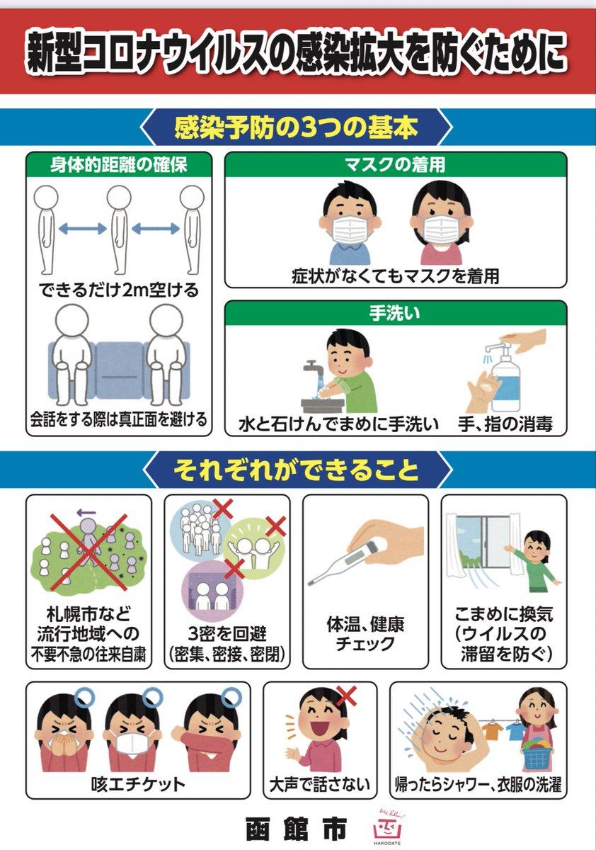 災害 情報 line 函館 公式!? 実は個人運営