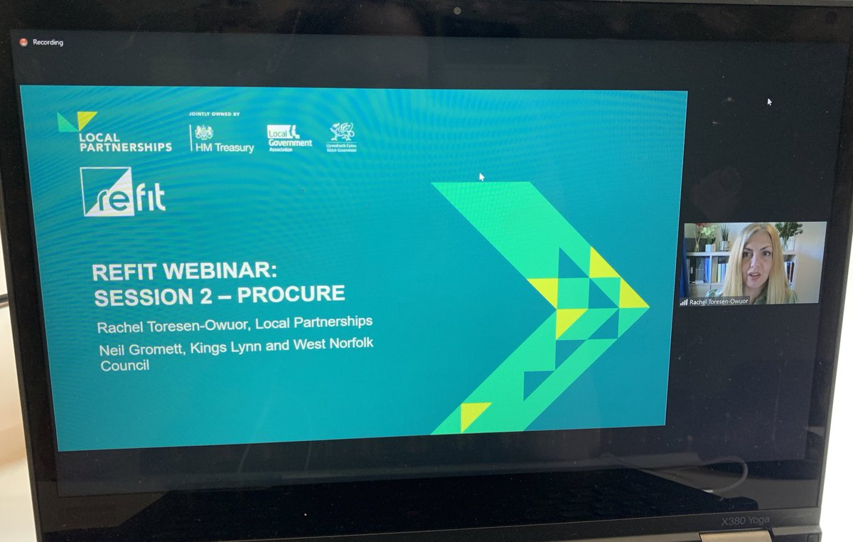 RT @LP_Emmabull The second in the @LP_localgov #Refit  webinar series with Rachel Toresen-Owuor today. #energyefficieny #energygeneration #EPC