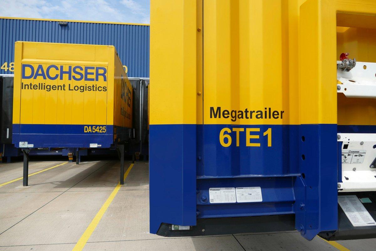 #DACHSER schafft mehr Laderaum -  sukzessive Umstellung der Sattelauflieger in der Business Line European #Logistics optimiert die Auslastung und verbessert gleichzeitig die #Klimabilanz der Transporte: https://t.co/LEOP72BBjJ https://t.co/DOlI6upLf6