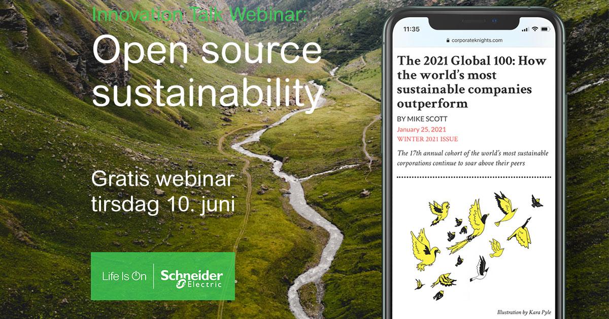 Hvordan lager man verdens mest bærekraftige selskap? 🌍 Det gleder vi oss til å diskutere sammen med noen av de mest spennende aktørene i Norge akkurat nå. Meld deg på webinar i dag og bli inspirert du også: https://t.co/p5KBlHKCIw #LifeIsOn https://t.co/WQIqXcPfVB