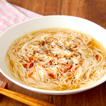 インスタント麺並に簡単。でもはちゃめちゃに旨い。「鶏ガラ×麺つゆ」で旨い素麺。