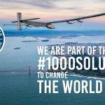 Image for the Tweet beginning: Heard the news? @solarimpulse has