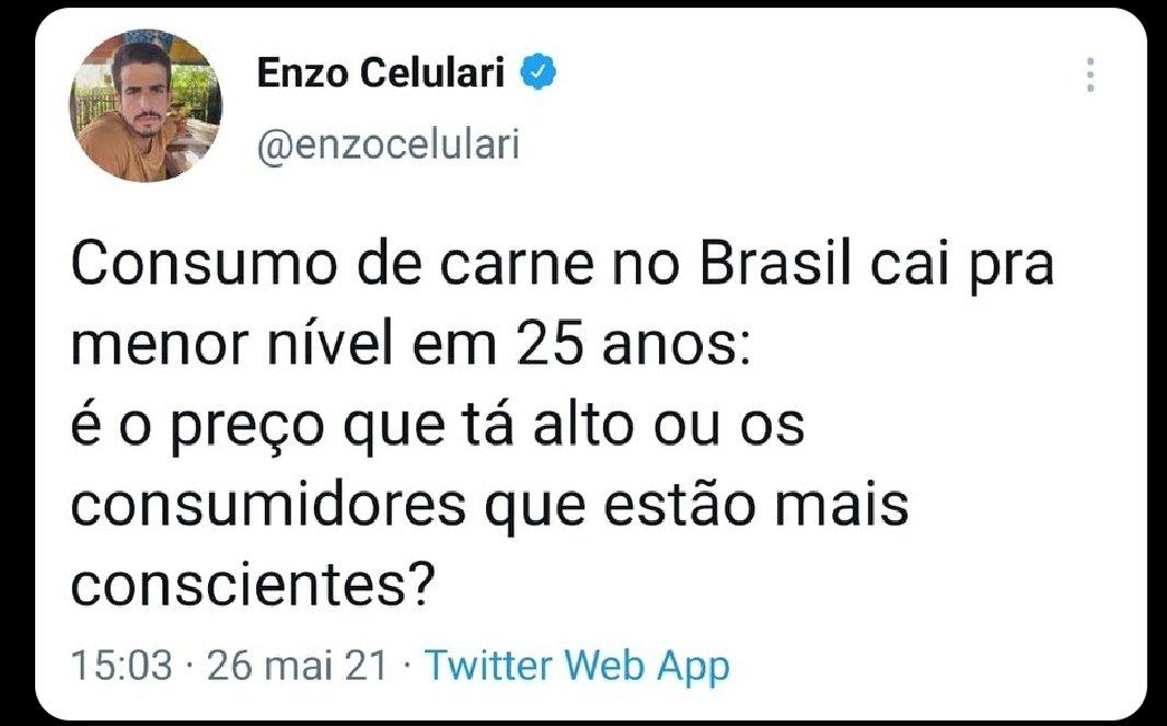 """Felipe Neto on Twitter: """"O hate q vcs tão jogando pro Enzo Celulari é de  uma arrogância intelectual tão pedante. Sim, o cara é filho de 2  milionários. Óbvio q ele não"""
