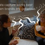 """""""Data capture works best when brands are generous."""" Listen to our latest Lively podcast to find out more: https://t.co/Vs6PyHkptL Questions about converting online? Hit reply and post your Q below, or arrange a workshop with our founder, Charlotte. #CreativityThatConverts"""