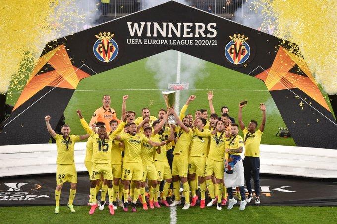 Villarreal Juara Liga Europa 2020-2021 ( Europa League 2020-2021)