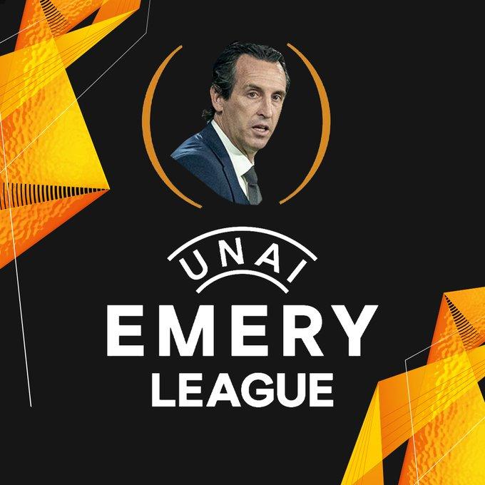 Meme atas kehebatan Unai Emery di Europa League dengan 4 gelar juara