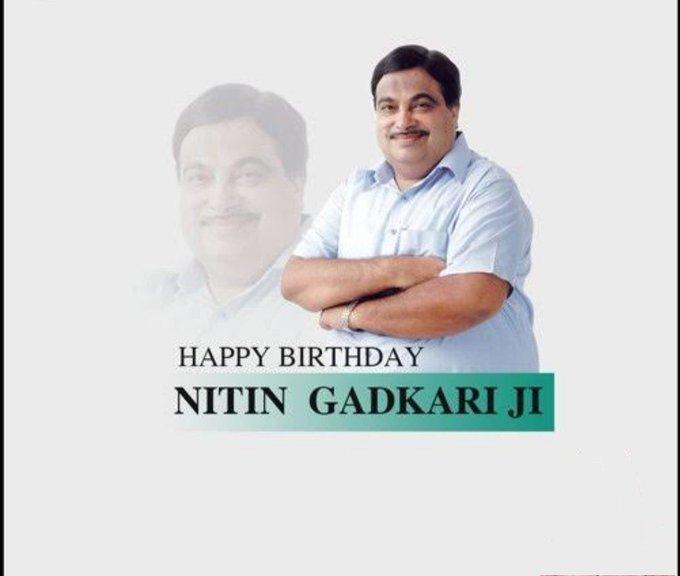 "\""Infrastructure man of India\""  Happy birthday to hon\ble ji."