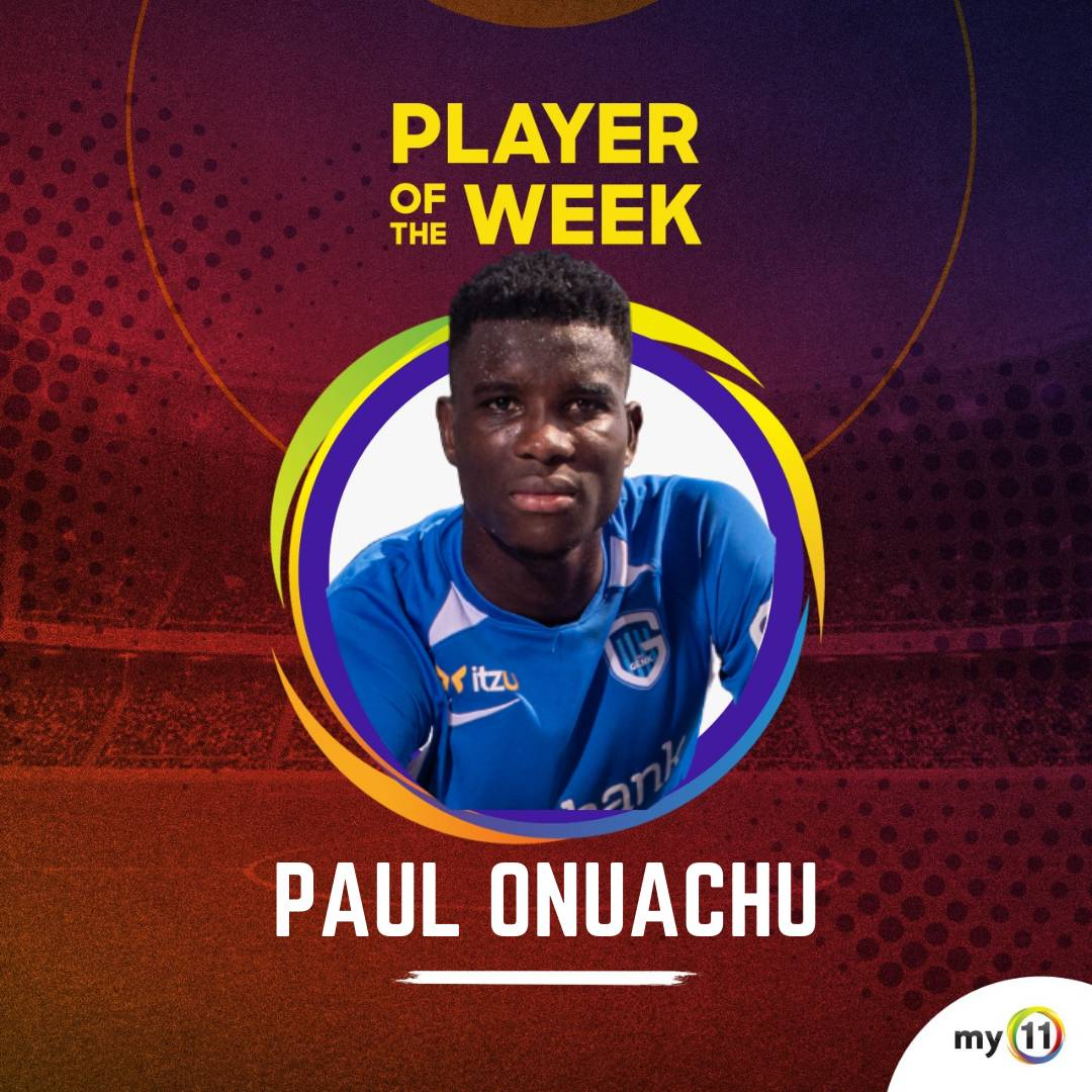 My11 Player of The Week for Gameweek 37.  Paul Onuachu has also won the Player of the Year for the 2020/2021 season in the Belgian Pro League.  #Retweet if he impressed you this season. . . . #my11 #footballnews #football #soccer #playeroftheweek #munliv #uefa #epl #giveaway https://t.co/5qI6HeZ7Va