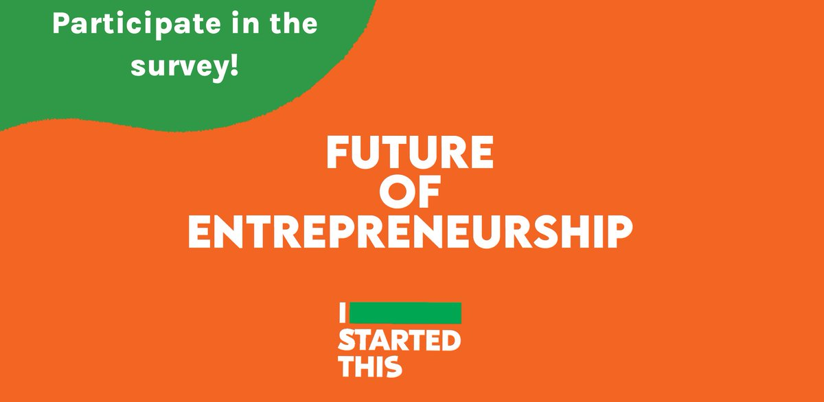 Hey entrepreneurs! What does the future of entrepreneurship looks like? Help us find out by filling out the survey powered by @theinklusiiv  We can't wait to read your answers! https://t.co/NNmx57kAu1