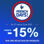 Image for the Tweet beginning: 📣 French Days 📣 Jusqu'à -15%