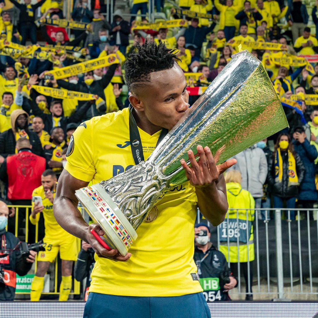 Samuel Chukwueze Joins List Of Nigerians To Win The UEL as Villarreal Conquers Manchester United In Gdansk