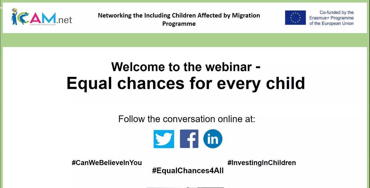Here we go!   #CanWeBelieveInYou; #InvestingInChildren; #EqualChances4All