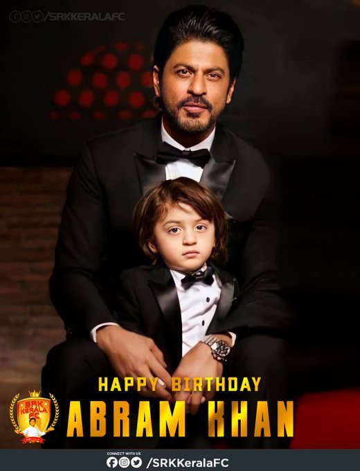 Happy Birthday to our Little Prince Abram Khan