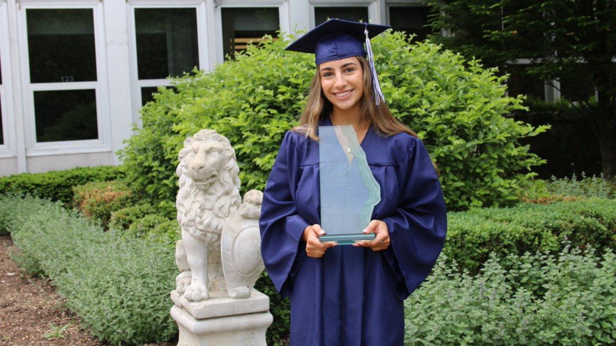 very proud of Stephanie #olwwildcatpride #olwalums