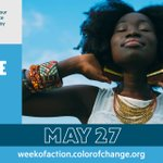 Image for the Tweet beginning: Today we're joining @ColorOfChange to