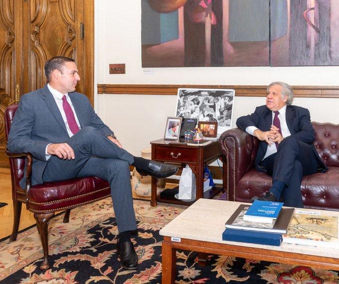 OEA contrata como asesor a Ernesto Muyshondt, ex alcalde de San Salvador