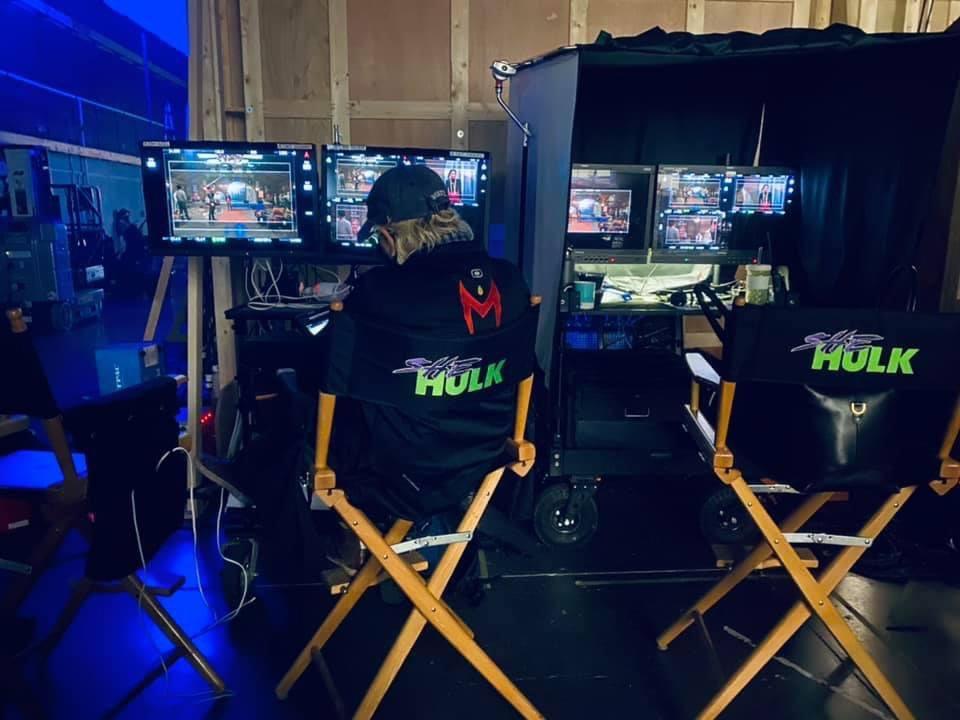She-Hulk set photo