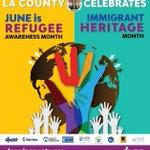 Image for the Tweet beginning: June is #RefugeeAwarenessMonth & #ImmigrantHeritageMonth.