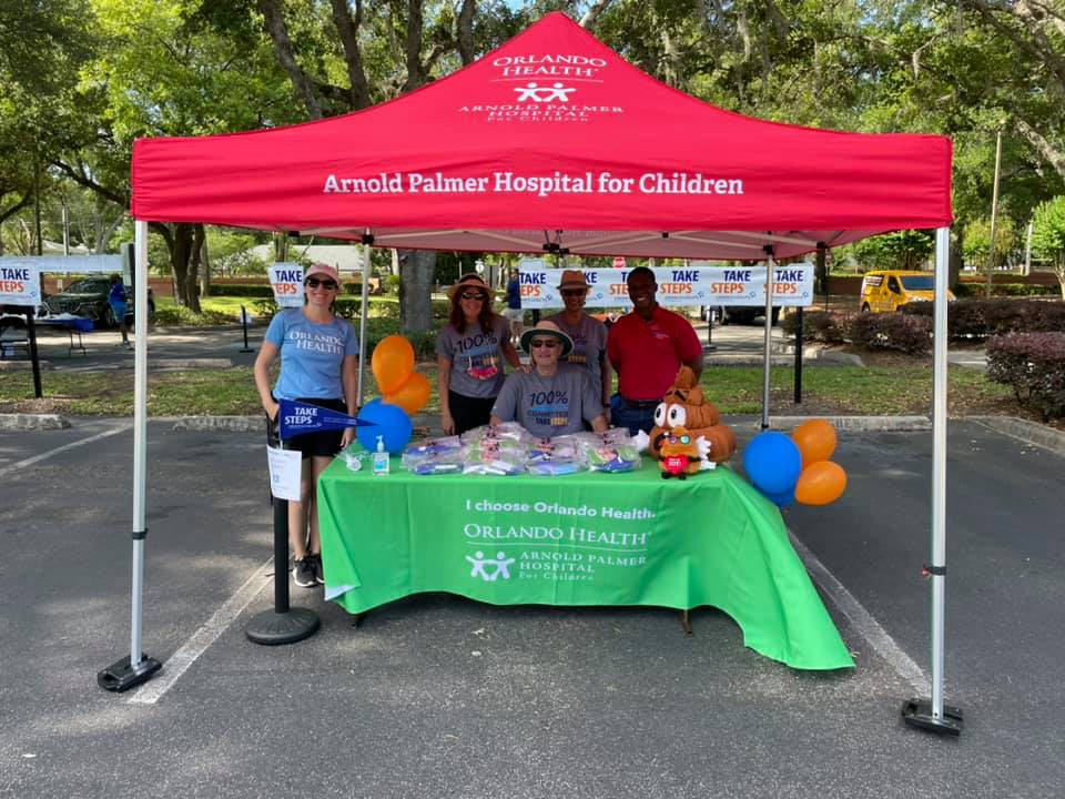Our team participated in @CrohnsColitisFn's Central Florida Take Steps Road Rally Drive Thru helping raise over $80,000 to find a cure for IBD.   #ChooseOrlandoHealth #WhyITakeSteps https://t.co/CUvxruQEkX