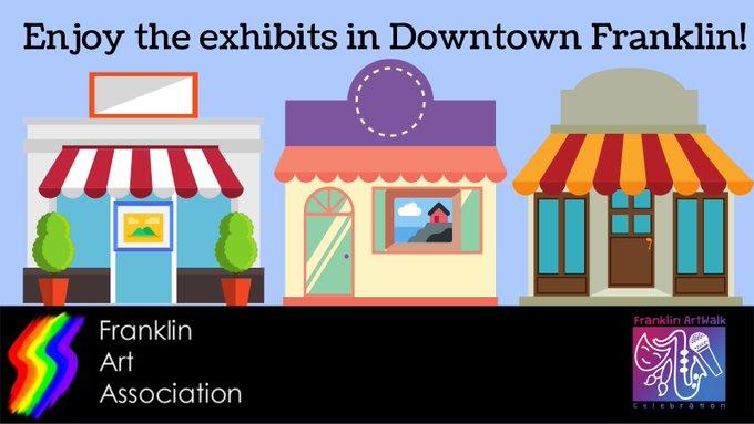 Franklin ArtWALK Celebration June 11-13