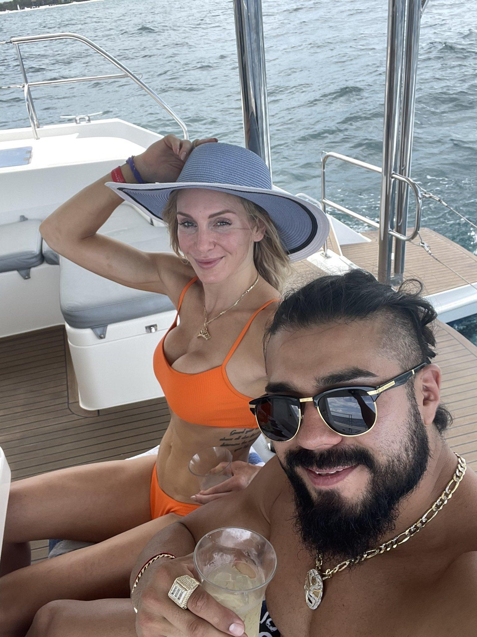 Photos: WWE Star Charlotte Flair Shares Bikini Spam From Latest Vacation 1