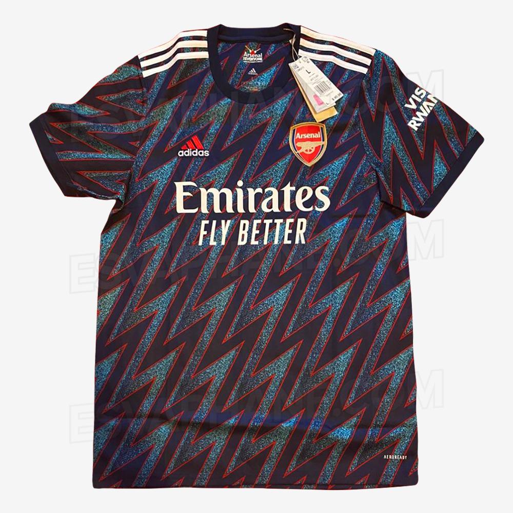 Arsenal 2021-22 Third Kit LEAKED