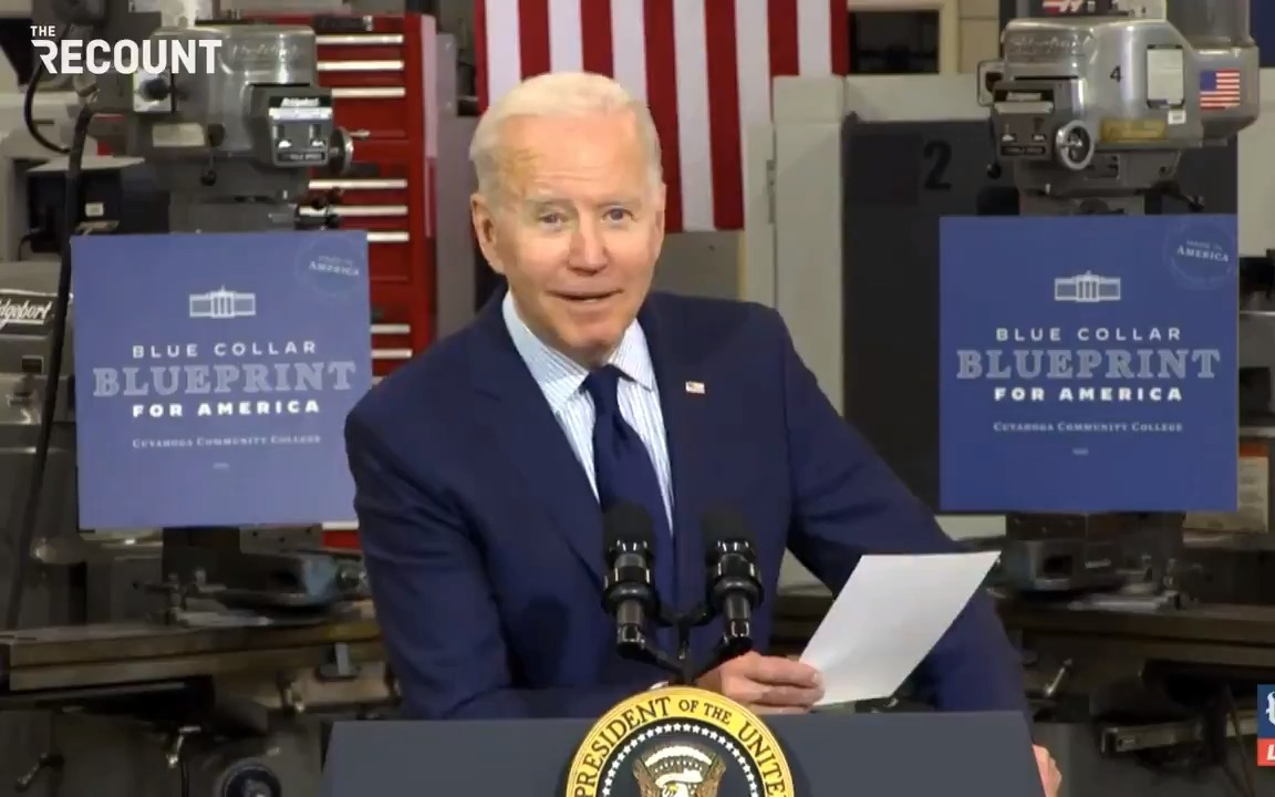 Joe Biden has a list of Republicans who voted against the American Rescue Plan but are shamelessly touting it anyway https://t.co/wQuDgsEA9j