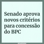 Image for the Tweet beginning: O BPC é a garantia
