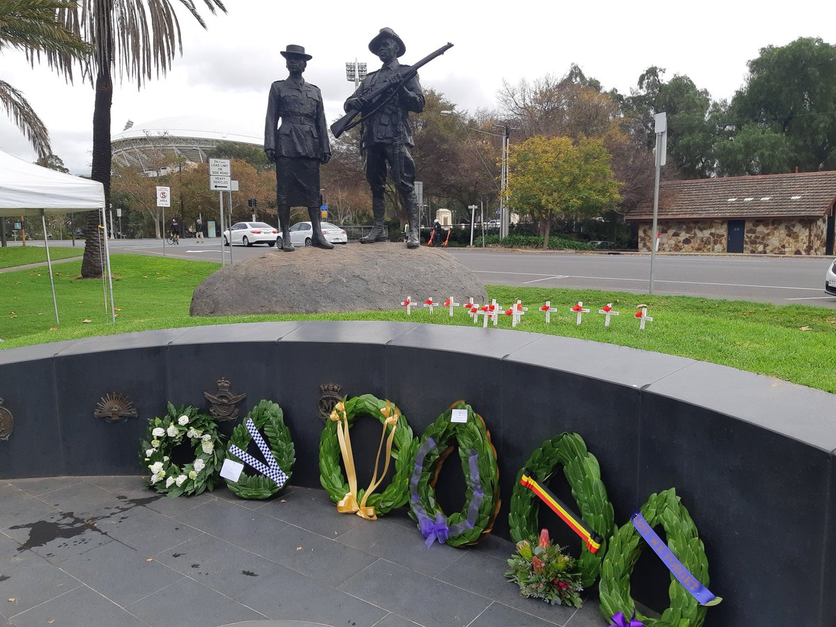 test Twitter Media - RSL SA is proud to be part of the planning for the Aboriginal Veterans Commemorative Service every year since its 2007 inception. RAAF Centenary was this year's theme. https://t.co/JLuhk0RY1y