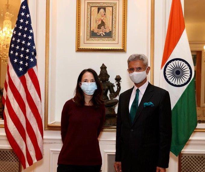 एस जयशंकर ने राजदूत संधू, बाइडन प्रशासन के शीर्ष अधिकारियों के साथ भारत – अमेरिका संबंधों पर चर्चा की