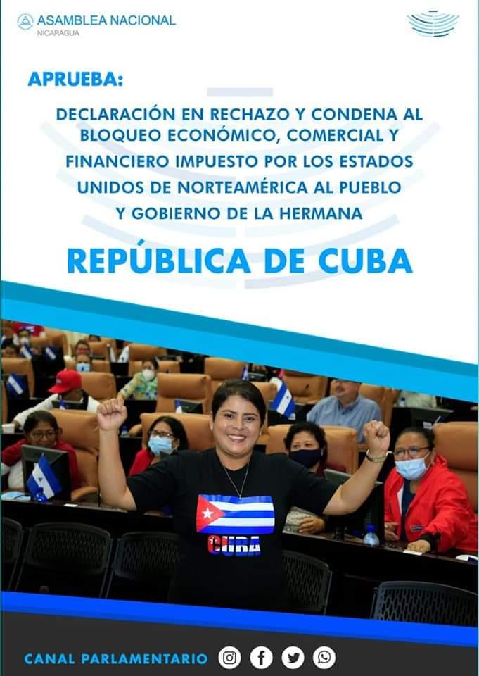 Foto: @AsambleaNacionalNicaragua