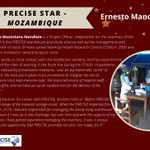 Image for the Tweet beginning: ⭐Ernesto Mandlate⭐ is our #PRECISE