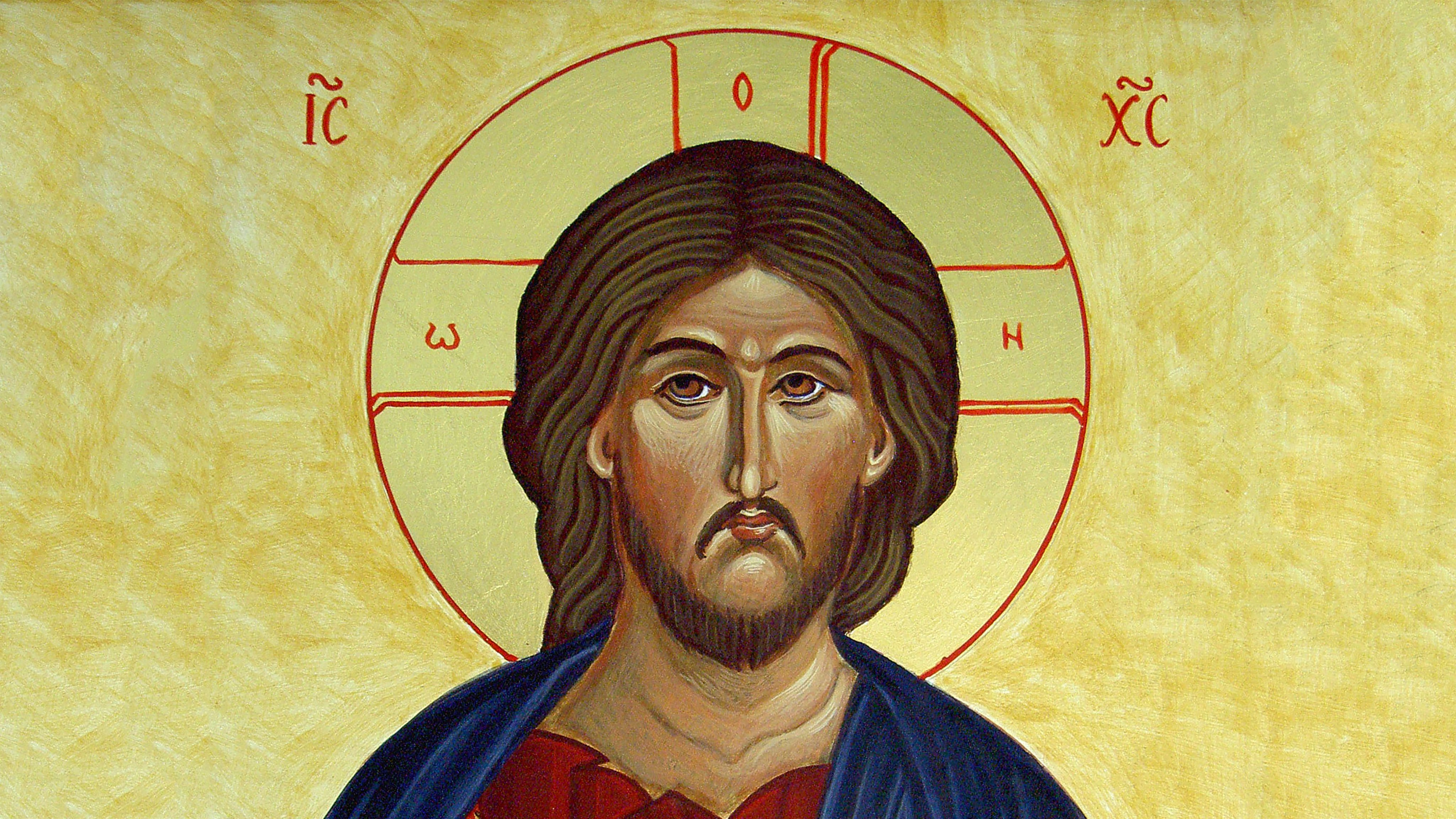 Wallpaper Cristo Pantocrator