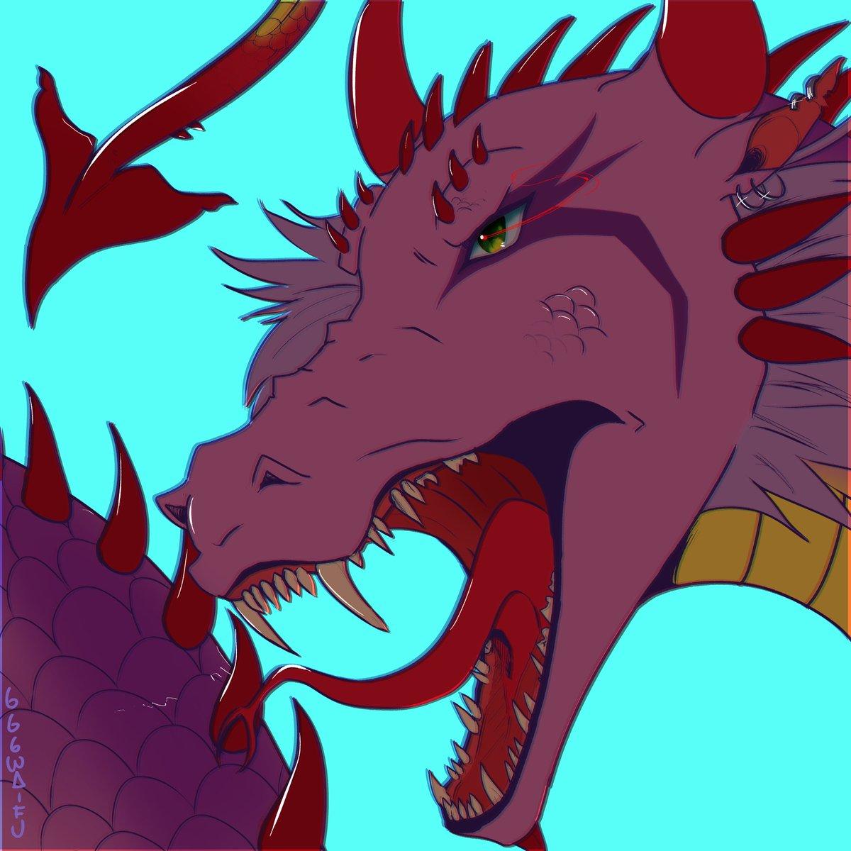 i love dragons . . #art #digitalart #CLIPSTUDIOPAINT #dragon #dragons