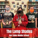 Image for the Tweet beginning: #Congratulations to The Lamp Shades