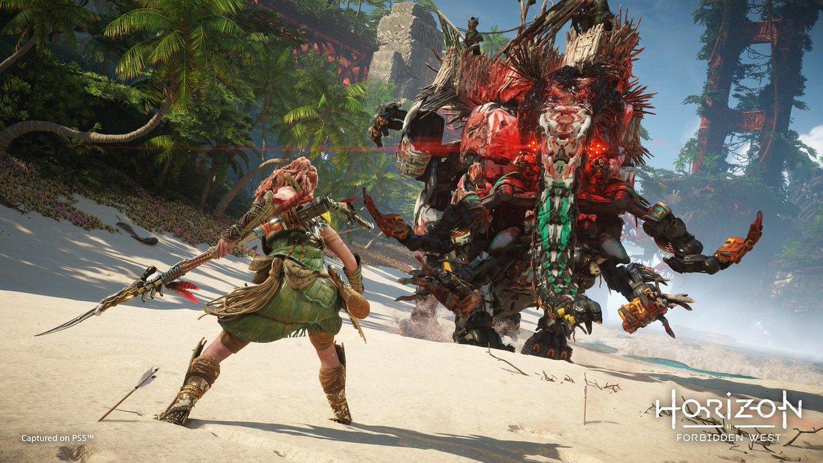 Horizon Forbidden West Gameplay Revealed