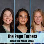 Image for the Tweet beginning: #Congratulations to The Page Turners