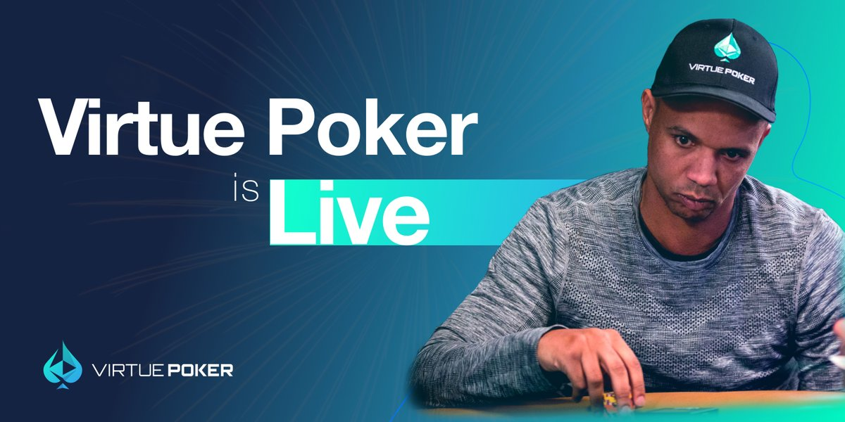 After working with the @Virtue_Poker team for over 3 years, glad to see the site launch