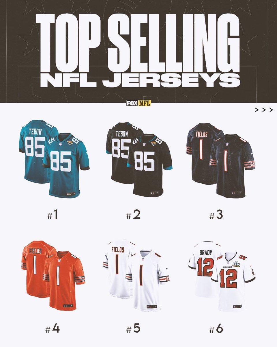 top selling nfl jerseys