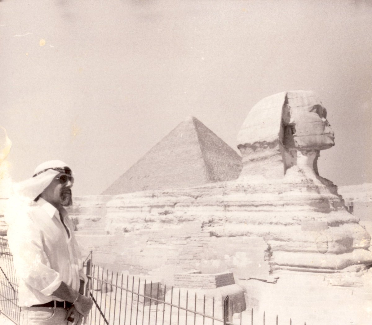 Egypt, 1987. #TheAlchemist was already written in my soul, but I didn't know it.  The night of the photo I went deep in the desert , and I had a vision.