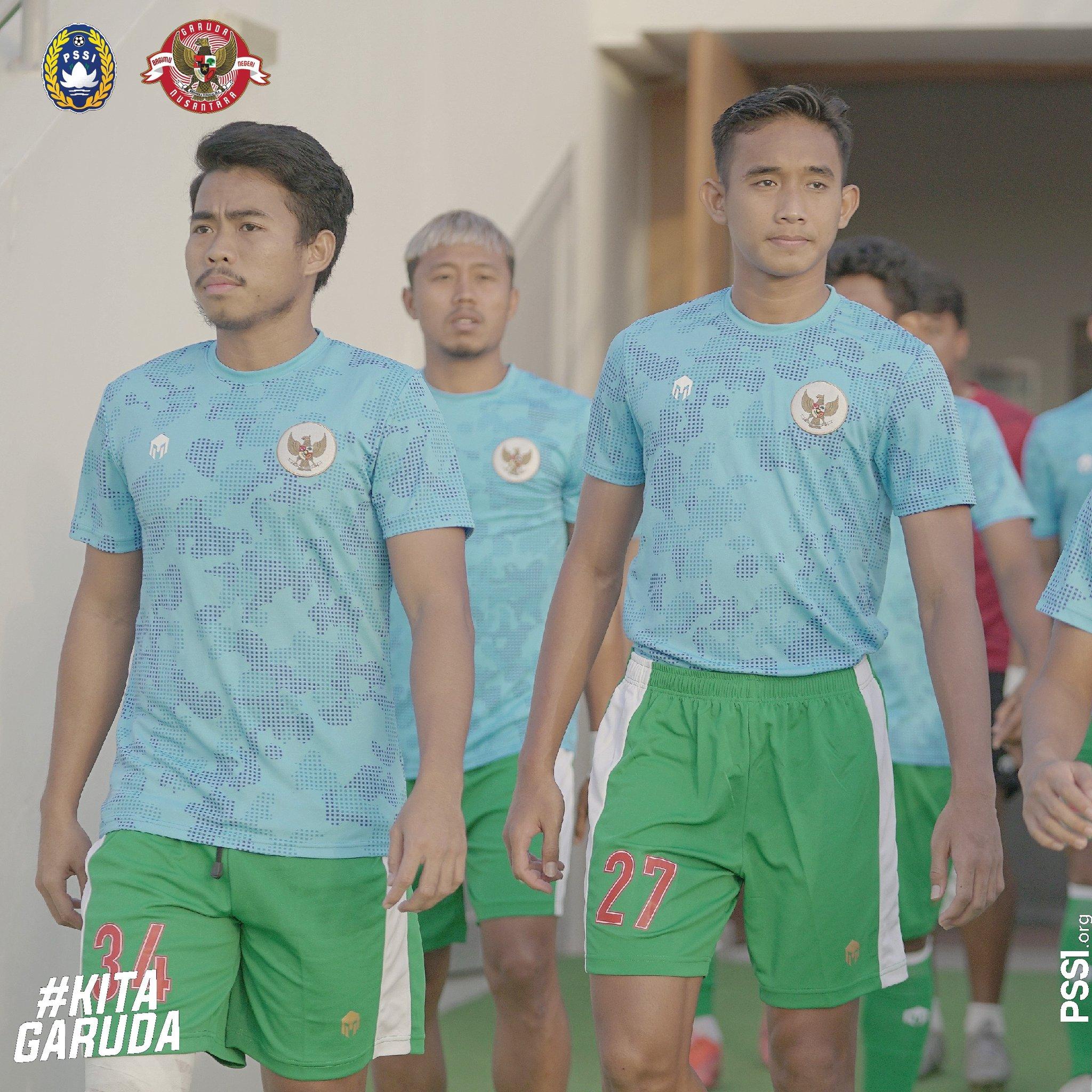 Nurhidayat Haji Haris (kiri) terpaksa dipulangkan dari Dubai ke Indonesia jelang laga Timnas Indonesia vs Thailand