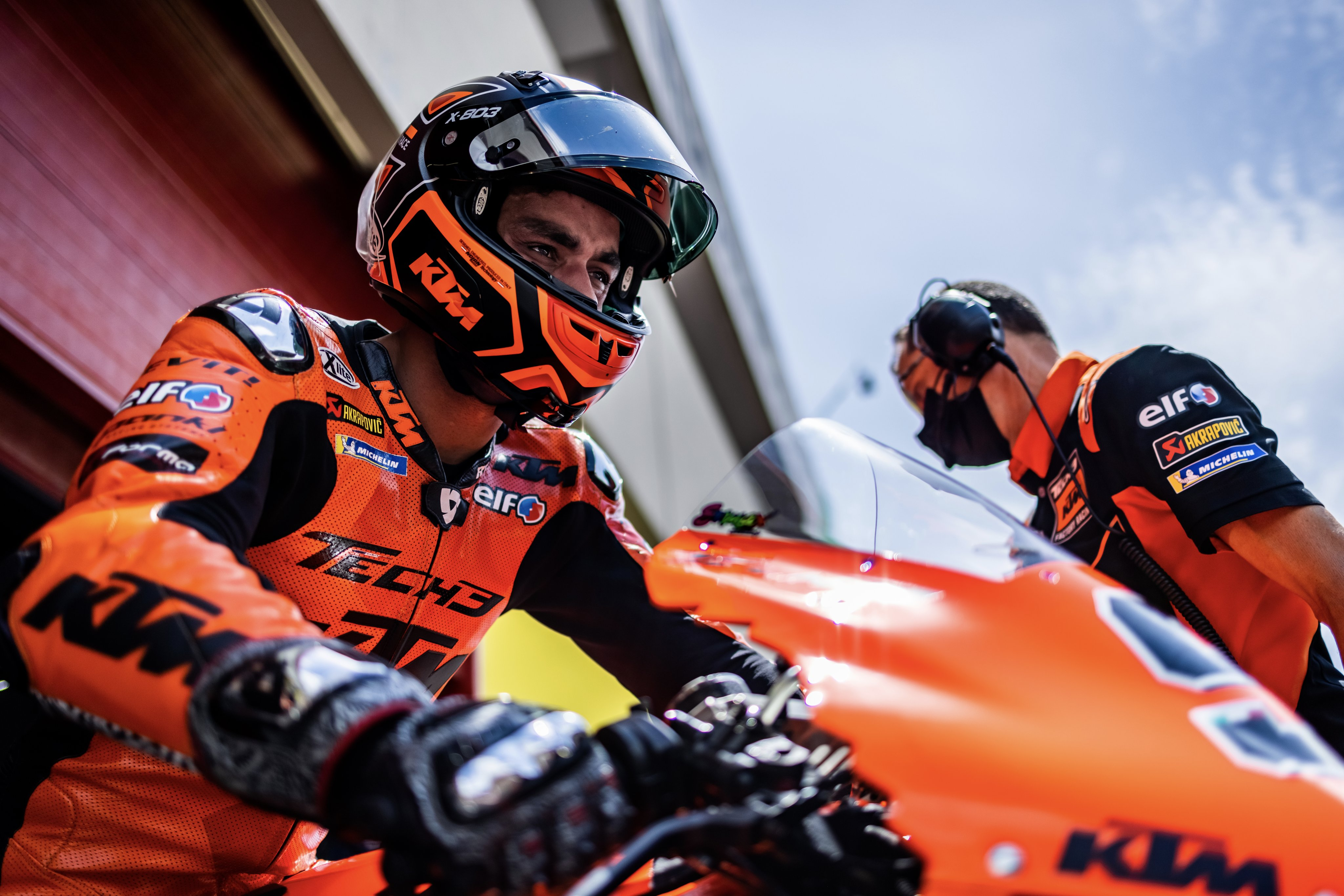 Ktm Factory Racing On Twitter Best Qualification Of The 2021 Motogp Season So Far Brad Binder Takes 6th Equaling The Top Speed Record With 362 4 Kmph On The Ktm Rc16 And Miguel