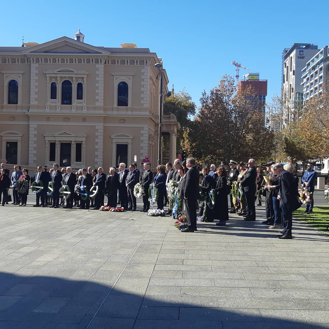 test Twitter Media - Today the Greek and Cretan communities commemorated the 80th anniversary of the Battle of Crete. Lest We Forget. https://t.co/XvNH68n8hW