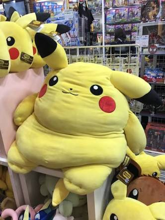 こいつと旅に出なければいけない?かなり太ってしまったピカチュウ!