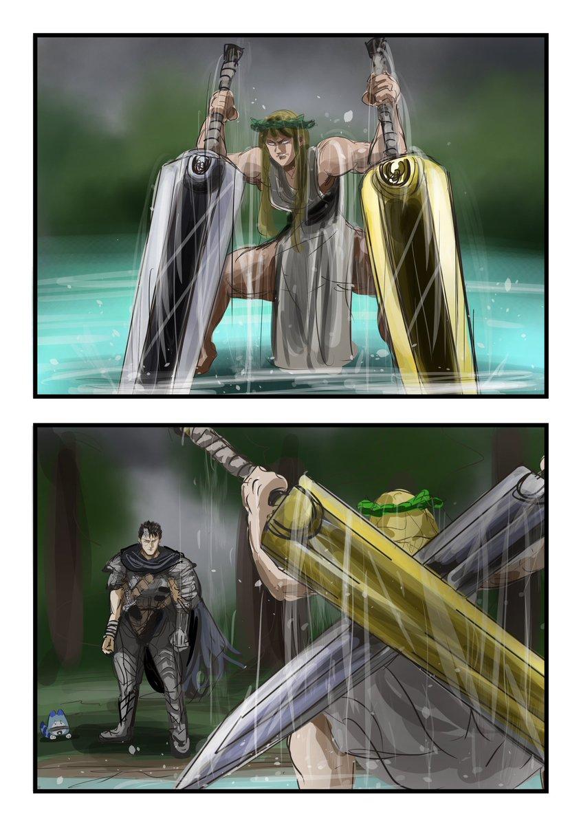 彼女の方が強いかも?「ドラゴン殺し」を落とされた泉の女神!